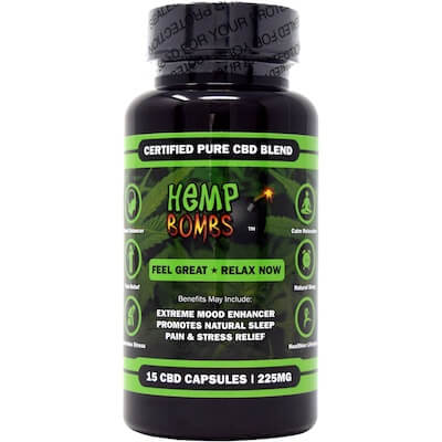 Hemp Bombs – 15mg / Capsule