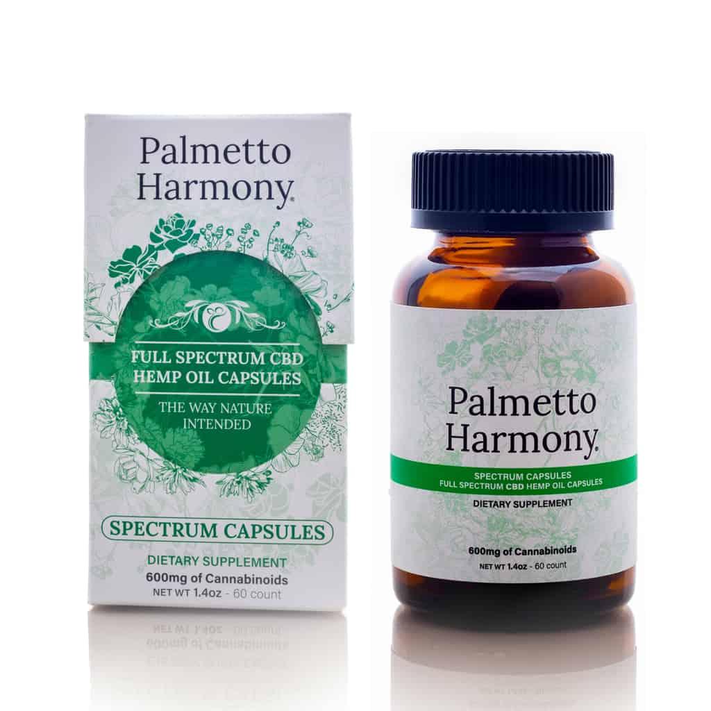 Palmetto Harmony Spectrum Capsules 10 MG Spectrum Capsules